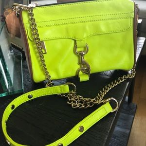 Beautiful Bright Lime Green Bag Rebecca Minkoff
